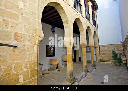 Museo Arqueologico de Ubeda, Town of Ubeda - a UNESCO World Heritage Site, Province of Jaen, Andalusia (Andalucia), - Stock Photo