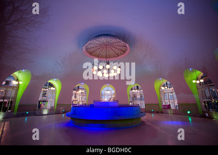In Vichy, the thermal spring of the Hospital (Allier - France). Source de l'Hôpital (Vichy 03200 - Allier 03 - France). - Stock Photo