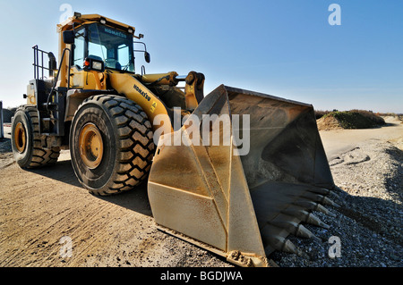 Front loader, Germany, Europe - Stock Photo