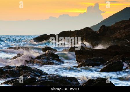 Gulf of Thailand, South China Sea, Koh Samet, Thailand - Stock Photo