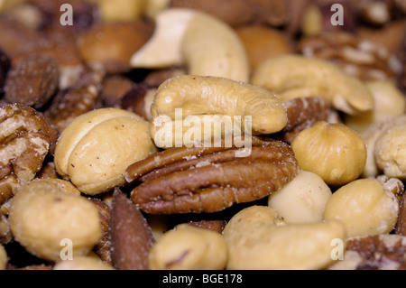 Close-up of Mixed Nuts - Stock Photo