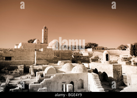 Syria, Aleppo, Old Town (UNESCO Site), The Citadel - Stock Photo