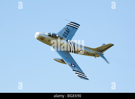 F86A Sabre jet fighter of the 1940's / 1950's - Stock Photo