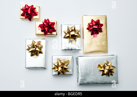 Christmas Gift Packets Stock Photo, Royalty Free Image: 27363284 ...