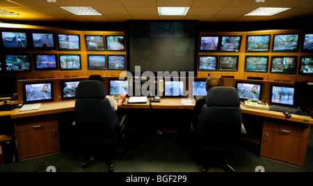 Excellent Cctv Control Room Tv Screens Britain Uk Stock Photo Royalty Largest Home Design Picture Inspirations Pitcheantrous