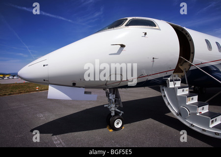 Modern Business Jet Parked On The Ground Stock Photo Royalty Free Image 773
