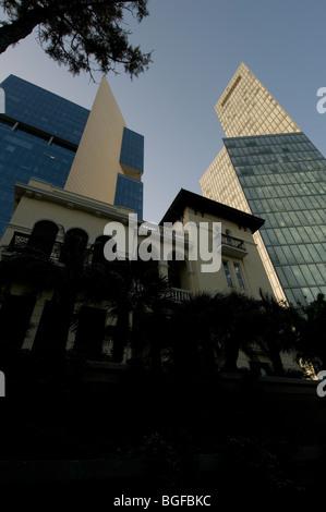 tel aviv Israel,Rothschild blvd,former russian embassy - Stock Photo