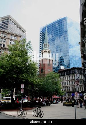 Old south meeting house Boston USA - Stock Photo