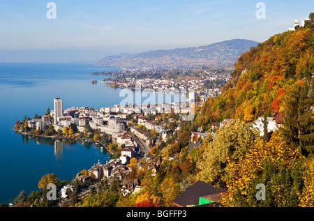 Montreux, Switzerland - Stock Photo