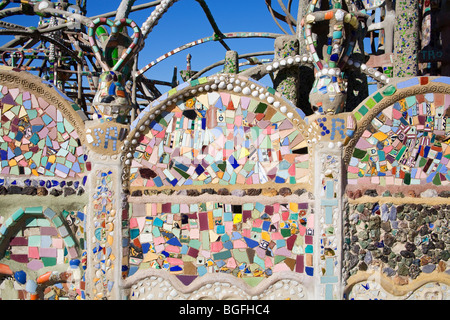 Watts Towers National Historic Landmark, Los Angeles, California, USA - Stock Photo