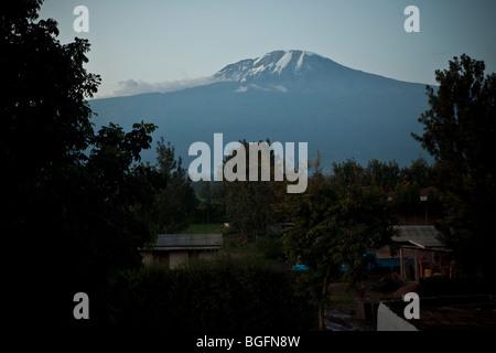 Mount Kilimanjaro, Tanzania, East Africa - Stock Photo