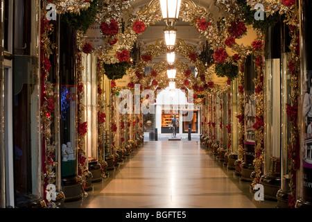 Piccadilly Arcade, Mayfair, London - Stock Photo