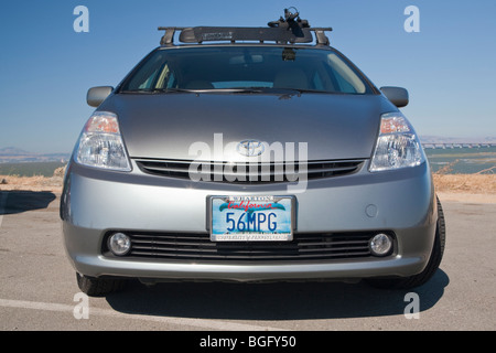 2004 toyota prius has a 56 mpg custom license plate. Black Bedroom Furniture Sets. Home Design Ideas