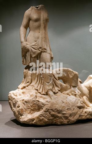 Museo Histórico Arqueológico de Almedinilla Córdoba Andalucía España Archaeological Almedinilla Historical Museum - Stock Photo