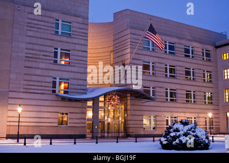 Embassy of the United States of America USA in Berlin - Stock Photo