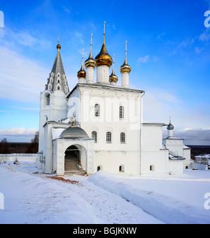 Church architecture, St. Nicholas monastery, Gorohovets, Vladimir region, Russia - Stock Photo