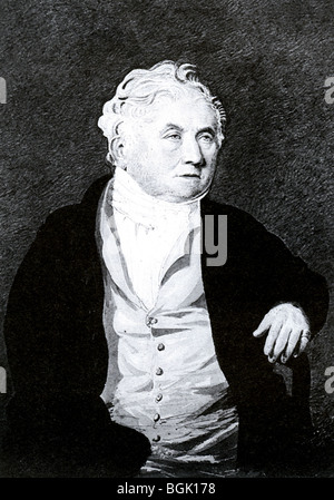 WILLIAM COBBETT (1763-1835) English radical journalist, MP and farmer, most famous for his book Rural Rides published - Stock Photo