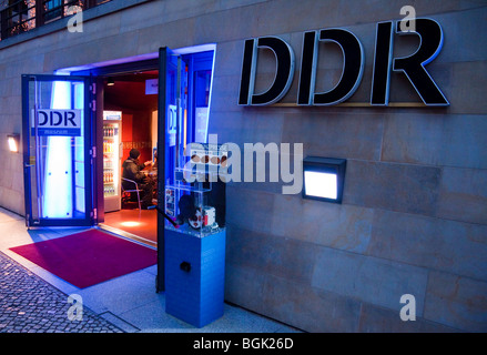 DDR Museum ( GDR Museum ); Museum of the old East Germany ( German Democratic Republic) , Berlin - Stock Photo