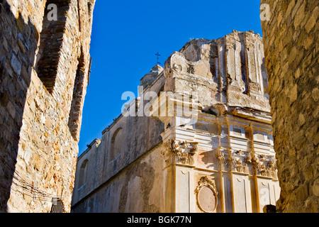 Bussana Vecchia, Imperia province, Italy - Stock Photo