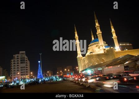 Christmas light Beirut Lebanon