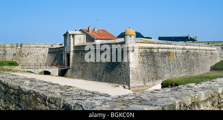 The citadel of Port-Louis, Morbihan, Brittany, France - Stock Photo