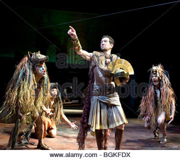 Julius Caesar by William Shakespeare,A Royal Shakespeare Company Production directed by Lucy Bailey - Stock Photo