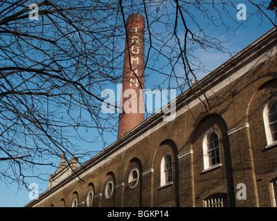 The Old Truman Brewery, Brick Lane, London - Stock Photo