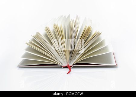 Buch aufgeschlagen - Stock Photo