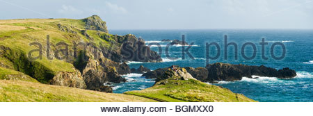 The Lizard Peninsula, Cornwall, England. - Stock Photo
