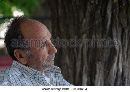 Old Greek man Greece - Stock Photo