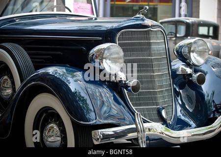 1930s Dodge Ram front view; movie set, Toronto, 'Kit Kittredge: An American Girl' - Stock Photo
