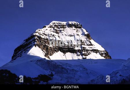 Top of Mt Condoriri. Cordillera Real, Bolivia. - Stock Photo