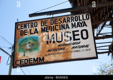 Museo Centro de desarrollo de la medicina maya. San Cristóbal de las Casas, Chiapas Mexico. - Stock Photo
