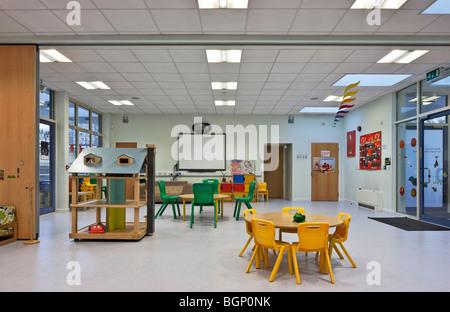 Lansbury Parents Centre Nursery in Tower Hamlets, London - Stock Photo
