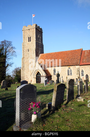 St Margaret's church Shottisham Suffolk England - Stock Photo