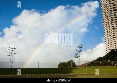 Hawaiian Rainbow - Stock Photo