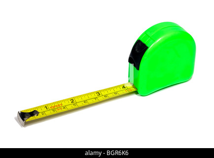 Metal Tape Measure - Stock Photo