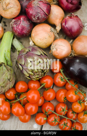 Vegetables, close-up. - Stock Photo