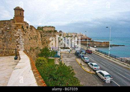 Foso de San Felipe Castle in Ceuta Spain - Stock Photo