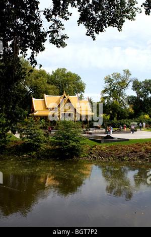 Thai Pavilion And Garden Olbrich Botanical Botanical Gardens Stock Photo Royalty Free Image