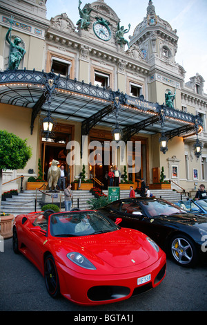 The Casino in Monte Carlo, Monaco. - Stock Photo