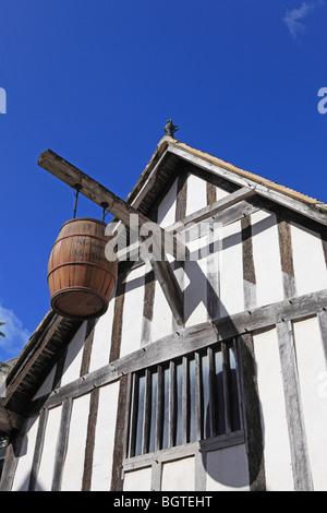 Southampton, Medieval Merchant's House - Stock Photo
