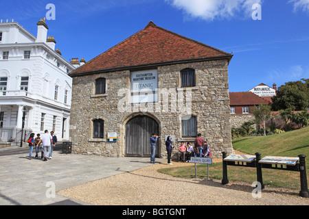 Southampton, Maritime Museum, The Wool House - Stock Photo