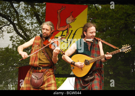 Playing a Celtic harp live on stage Stock Photo: 7781768 - Alamy