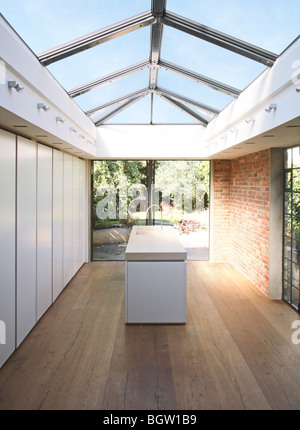 PRIVATE HOUSE, LONDON, UNITED KINGDOM, MCDANIEL WOOLF - Stock Photo