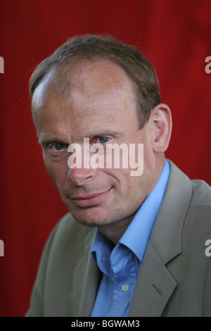 ANDREW MARR, journalist, former editor of The Independent newspaper. Edinburgh International Book Festival 2005, - Stock Photo