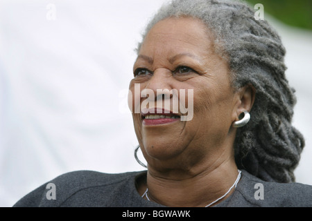 Toni Morrison, American Nobel and Pulitzer prize winning author, editor and professor. Edinburgh International Book - Stock Photo
