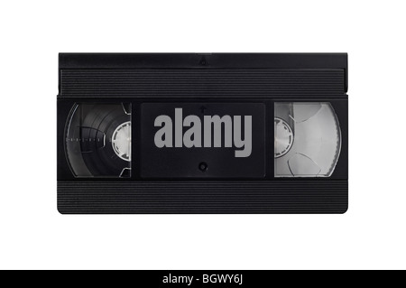 Video Tape Cut Out - Stock Photo