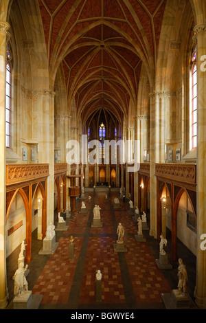 Berlin. Germany. Friedrichswerdersche Kirche aka Schinkel Museum. Stock Photo