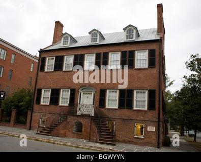 Davenport House and Museum, Savannah, Georgia, United States of America. - Stock Photo
